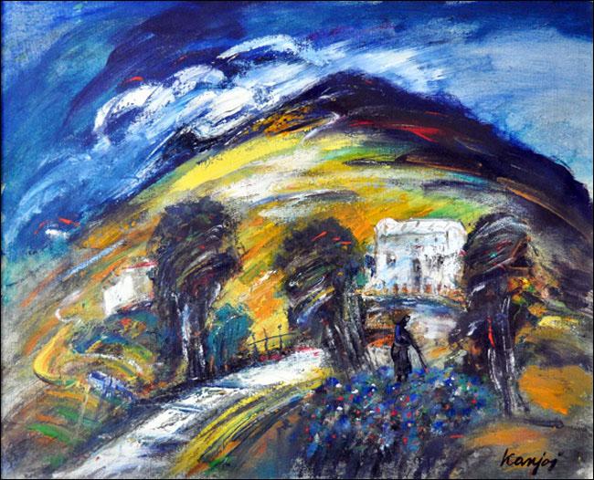 [24] Dihovo, 1970, ulje na platnu, 60x80 cm [cena: 400]