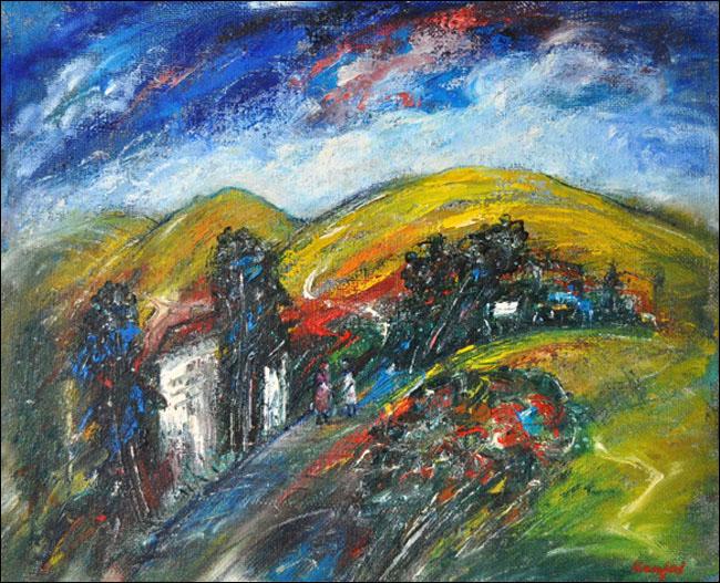 [36] Jesen, 2000, ulje na platnu, 60x80cm [cena: 400]