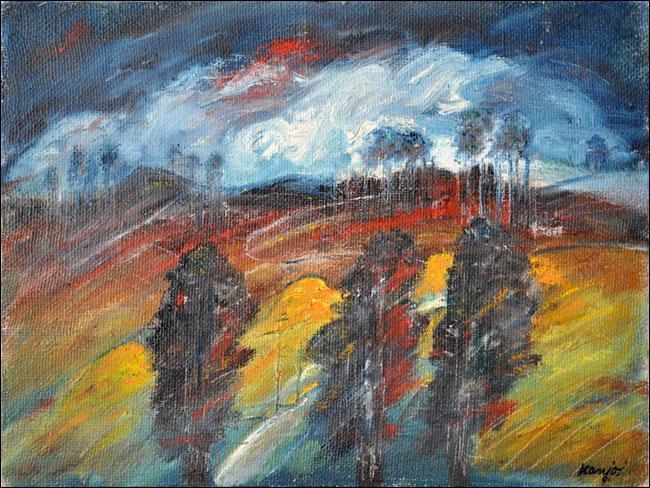 [8] Leto II, 1960, ulje na platnu, 60x80 cm [cena: 400]